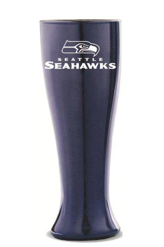 NFL-Seattle-Seahawks-Solid-Color-Glass-Pilsner
