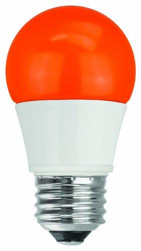 Tcp Rlas155Wor Led A15 - 40 Watt Equivalent (5W) Orange Colored Light Bulb