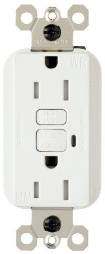 Pass & Seymour 1595Trwrwcc4 Gfci Receptacle Tamper Resistant Weather Resistant 15-Amp/125-Volt 20-Amp Feed Thru
