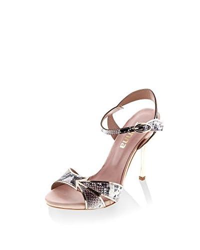 SIENNA Sandalo Con Tacco Rosa/Dorato EU 41