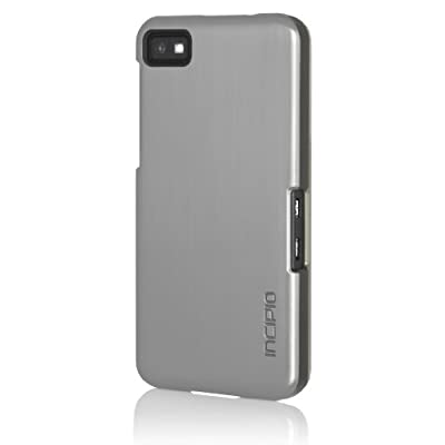 Incipio BB-1005 Feather Case Shine for BlackBerry Z10 - 1 Pack - Retail Packaging - Silver