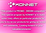 Konnet Technology KN-8284 PowerExpress - Charge & Sync Cable for the New iPad, iPad 2, iPad, iPhone 4S, 4, 3Gs, 3G, iPhone and iPod with Cable management - 1 Pack - Retail Packaging - Black
