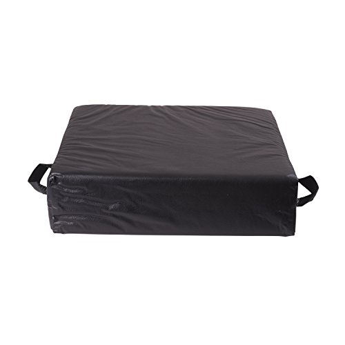 seat assist deluxe seat lift seat riser car cushion pillow with black cover new ebay. Black Bedroom Furniture Sets. Home Design Ideas