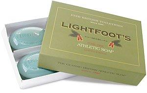 Lightfoot s Pure Pine Gentlemen s Athletic Soap - 4 Bar Boxed SetB0006I8KXA