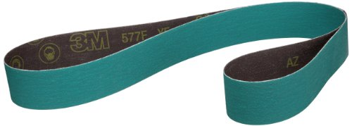 "3M Cloth Belt 577F, Alumina Zirconia, Wet/Dry, 2-1/2"" Width x 60"" Length, 120 Grit, Green (Pack of 50) at Sears.com"