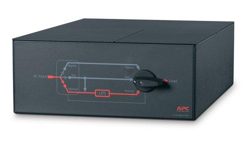 APC Service Bypass Panel Bypass switch ( montage en rack ) CA 200/240 V 3 connecteur(s) de sortie 4U 19""