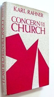 Concern For the Church, Vol. 20: Theological Investigations PDF