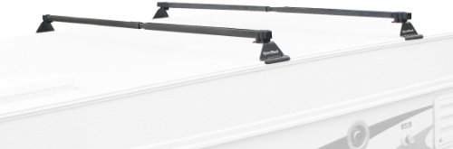 Sportrack Sr1020 Camp Trailer Rack System, Black front-864270