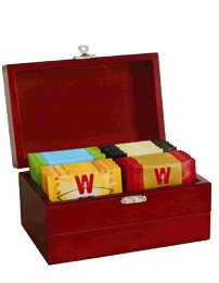 Отзывы Wissotzky Tea Royal Tea Chest / 4 Assorted Flavours / 32 Tea Bags