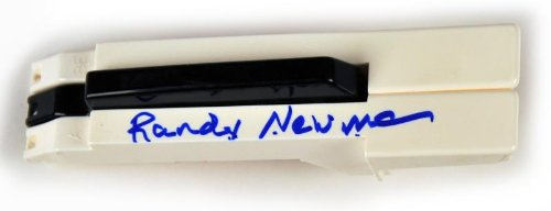 Randy Newman - Music Legend - Autographed Keyboard Keys