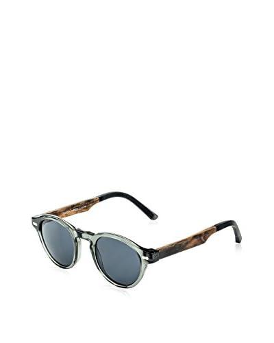 Ivory + Mason Women's TMW101 Robertson Sunglasses, Crystal Grey/Walnut