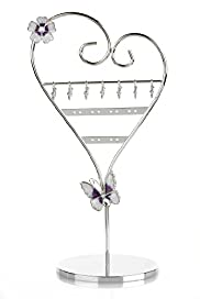 Floral & Butterfly Mannequin Jewellery Holder
