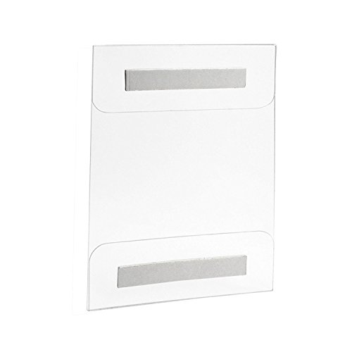 acrylic-sign-holder-wall-mount-85-x-11-inches-with-adhesive-tape-6-pack-no-drilling