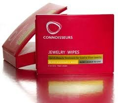 Connoisseurs Jewelry Wipes Case of 12 Boxes of 25 Wipes