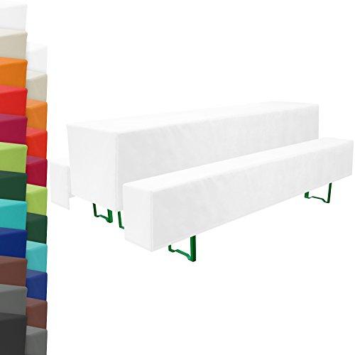 beautissu bier bankhussen biertisch husse 3er set in f r 50 70 cm breite tische. Black Bedroom Furniture Sets. Home Design Ideas