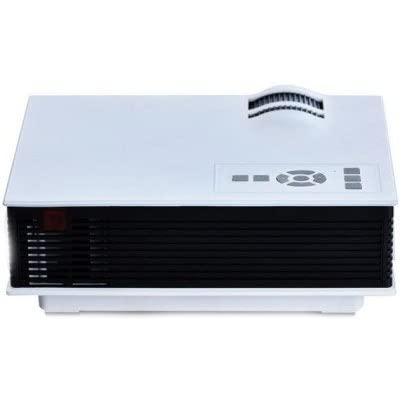 Play 1800 lm LED Corded & Cordless Portable Projector (White)
