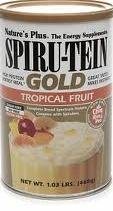 Spiru-Tein Gold High Protein Energy Meal Tropical Fruit Flavour 468gm