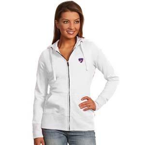 Fc Dallas Womens Zip Front Hoody Sweatshirt (Color: White) - Large