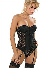sexy woman lingerie corset