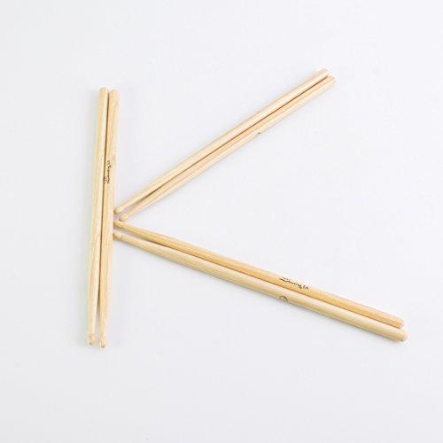 3-paar-drumsticks-hickory-perch-jess-set-hickory-5a-natur-drumstick-set-mit-6-walnuss-stocke-3er-paa