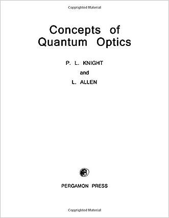 Concepts of Quantum Optics