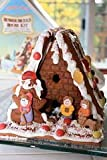Trader Joes Gingerbread House Kit, Authentic German Hexen Haus with Candy and Cookie Decorations
