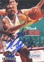 Mark Jackson Los Angeles Clippers 1993 Skybox Autographed Hand Signed Trading Card. by Hall of Fame Memorabilia