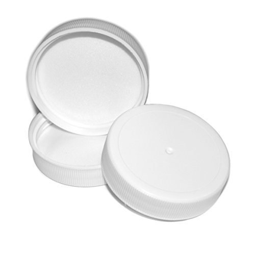 (3pk) Replacement Screw On Caps for 3 and 5 Gallon Water Bottles 48mm (Water Bottle Replacement Lid compare prices)