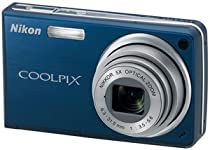 Nikon Coolpix S550 10MP Digital Camera with 5x Optical Zoom (Cool Blue)