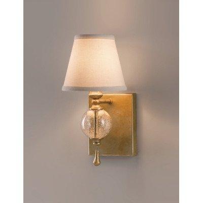 Applique Argento argent et verre, 1 ampoule