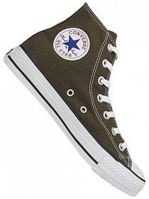 Converse Men's All Star Hi (Chocolate/Red 5.0 M)