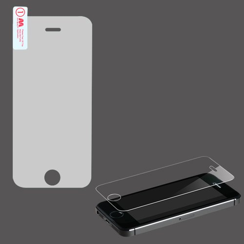 Phonetatoos (Tm) For Iphone 5C, Iphone 5S/5 Tempered Glass Screen Protector - Lifetime Warranty front-785753