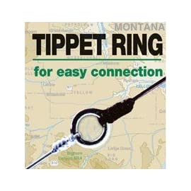 XL Climax Tippet Rings for Fly Fishing Leaders 40#/3mm