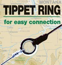 Tippet Rings Refills for Leaders and Tippets 20 per package - plus a free 10 ...