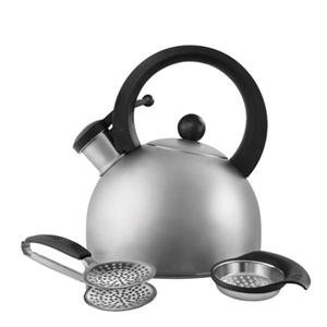 Wilton Brands 2503-1108 Copco Brushed Ss 3Pc Tea Set