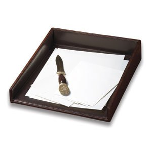 Buy Faux Croc Leather Letter Tray Adds a Touch of Class to Any Writing Surface