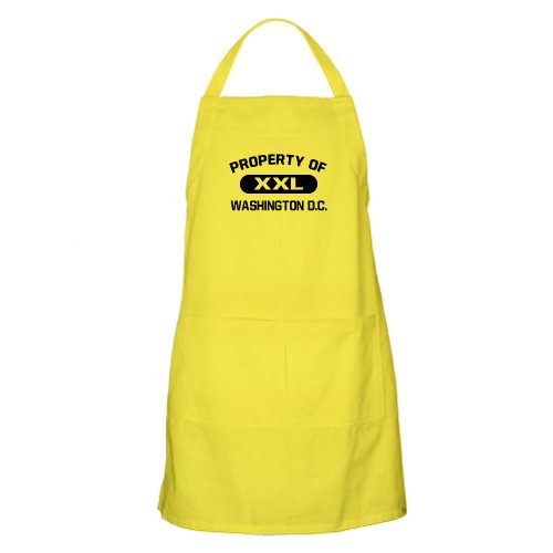 Cafepress Property Of Washington D.C. BBQ Apron - Standard