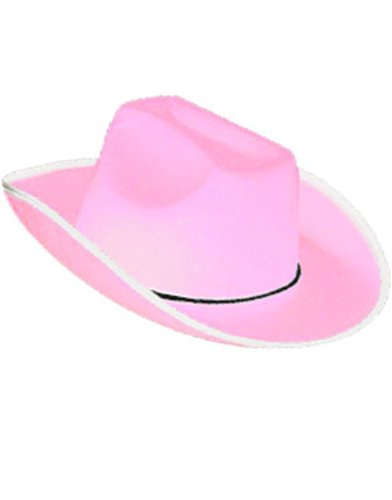 New Country Girls Pink Cowboy Cow Boy Felt Costume Hat
