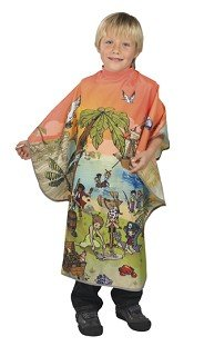BOB TUO Professional hairdressing cape - Child's design - PIRATE