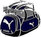 プーマPUMA トレーニング J 3 ウェイ バックパック (02)ピーコート/ブラック/シルバー PMJ-072043-02