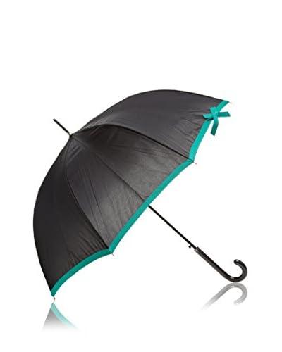 Dots Paraguas Cenefa Verde