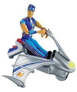 LAZYTOWN SPORTACUS SKY CHASER RESCUE