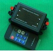 Miyole LED Light Dimmer RF Controller DC12-24V LED RF Controller Remote Control for RGB LED Lamp Light Strip