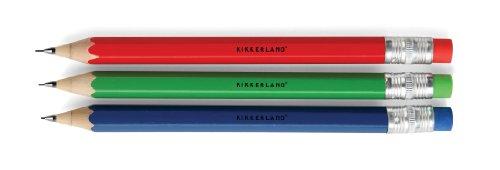 Kikkerland Rainbow Mechanical Pencils In Box, Set Of 3 (4102P)