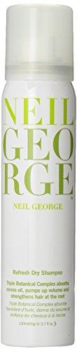Neil George Refresh Dry Shampoo, 3.7 Ounce