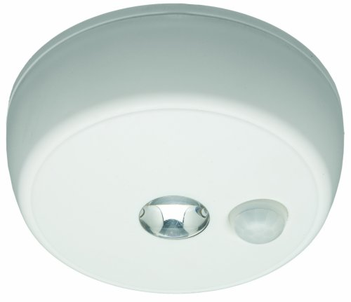 Images for Mr. Beams MB 980 Battery-Operated Indoor/Outdoor Motion-Sensing LED Ceiling Light, White