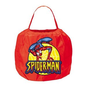 The Amazing Spider-Man Halloween Spring Trick-Or-Treat Pail Disguise 18583