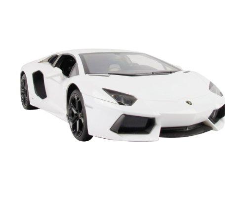 Jamara 404316 - RC Lamborghini Aventador 1:14, 40 MHz inklusive Fernsteuerung, weiß