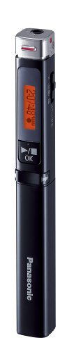 Panasonic ICレコーダー 4GB スティック型 ブラック RR-XP007-K