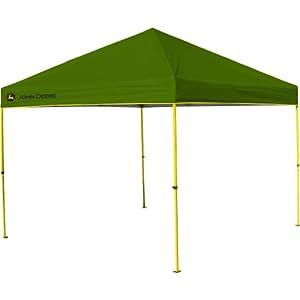 Buy John Deere Instant Canopy, 10 x 10-Feet, Green by John Deere
